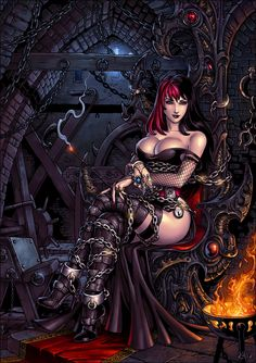 Gothica by Candra.deviantart.com on @DeviantArt