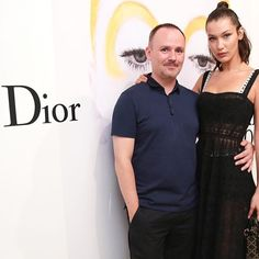 Dream team reunited! Gorgeous @bellahadid and the master @peterphilipsmakeup celebrated the #diortheartofcolor exhibition opening in Arles #southoffrance. @diormakeup #diormakeup  via DIOR OFFICIAL INSTAGRAM - Celebrity  Fashion  Haute Couture  Advertising  Culture  Beauty  Editorial Photography  Magazine Covers  Supermodels  Runway Models