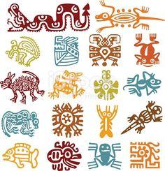 Aztec Art Cliparts, Stock Vector And Royalty Free Aztec Art . Aztec Art Cliparts, Stock Vector And Royalty Free Aztec Art . Native Art, Native American Art, Doodles Zentangles, Aztec Symbols, Viking Symbols, Egyptian Symbols, Viking Runes, Ancient Symbols, Motifs Aztèques