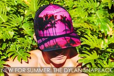 New For Summer. The Dylan Snapback Flat Brim is part of the Gents Luxe collection.   Unisex. One Size - Adjustable Snapback Curveable Flat Bill (http://gentsco.com/dylan-snapback-baseball-cap/)