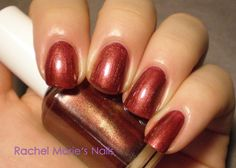 Essie Wrapped in Rubies -- about to put this on!
