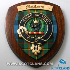 MacLaren Clan Crest Plaque