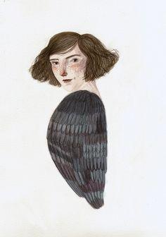 bird girl | by Lizzy Stewart