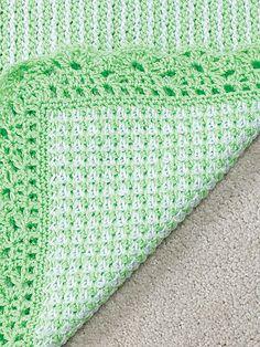 Tunisian Crochet Video: Tunisian Twisted Knit Stitch ~ Very cute blanket. Crochet Afghans, Tunisian Crochet Patterns, Crochet Borders, Baby Afghans, Knit Or Crochet, Crochet Crafts, Crochet Stitches, Crochet Hooks, Baby Blankets