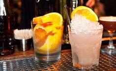 The Bayflower cocktail at Long Island City's Dutch Kills. [Photo: Marley White/NYC & Company]
