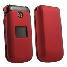 LG Envoy 2 Compatible Rubberized Protective Cover - Red - $7.95