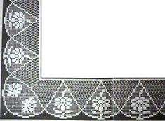 crochet em revista: barra crochet margherite