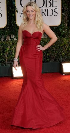 Reese Witherspoon  Classic red