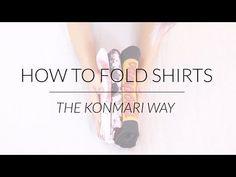 Tidying Up the KonMari Way: Folding