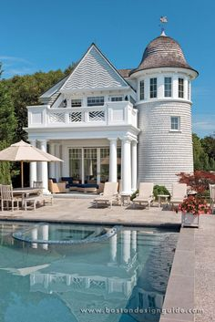 Osterville Residence | pool and pool house
