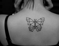 23 Awesome Upper Back Tattoos for Women upper back tattoo designs - Tattoos And Body Art Butterfly Tattoo Cover Up, Butterfly Tattoo Meaning, Butterfly Tattoo On Shoulder, Butterfly Tattoos For Women, Butterfly Tattoo Designs, Geometric Tattoo Butterfly, White Butterfly, Mini Tattoos, Body Art Tattoos