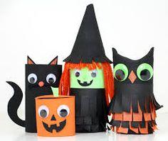 rolinhos de papel higienico para fazer de morcego para festa de halloween - Google Search
