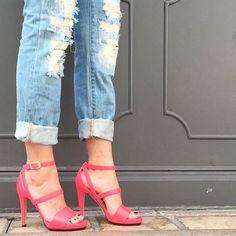 Jimmy Choo Leather Ankle Strap Sandal (Women) | Nordstrom