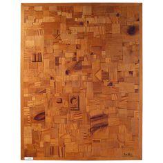 Japanese Modernist Wood Collage