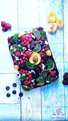 Negresa cu fructe ( fara zahar )
