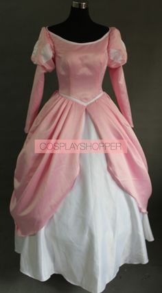 Looking for high quality Little Mermaid cosplay with great price? Check out this The Little Mermaid Princess Ariel Pink Dress Cosplay Costume and start saving big today! Princess Ball Gowns, Disney Princess Dresses, Disney Dresses, Disney Outfits, Princess Outfits, Disney Cosplay Costumes, Ariel Cosplay, Ariel Costumes, Cosplay Diy