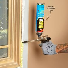 Play It Safe Around Windows and Doors - Sealing around windows and doors is one of the most common uses for expanding foam. But it can actually push the jamb inward, making them impossible to open. Avoid this by using minimal expanding foam. It's formulated to fill the space around windows and doors without excess expansion. Look for cans labeled for use on windows and doors. Another good idea is to fill the space with two layers. Push the applicator tip all the way to the back of the space…