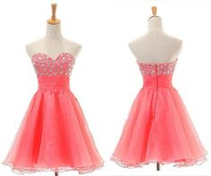Sleeveless Sweetheart Red Prom Dress Homecoming Dress,Off the shoulder dress