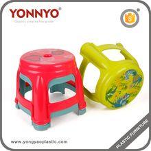 Niños muebles partido principal proveedor en China fabricante y mayorista apilable taburete de plástico