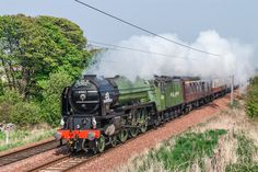 We've joined with Steam Dreams and the Scottish Railway Preservation Society to run four steam train journeys on some our most scenic routes this summer. Each special service will be hauled by 60163 Tornado, the newest steam locomotive on Britain's main line railways. scotrail.co.uk/steam-trains