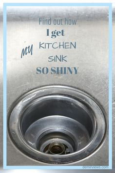 Does your kitchen sink need a little pick me up? My kitchen sink did. Come find out how I cleaned and sanitized my sink with all natural products!