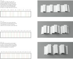 """Paul Jackson - """"Folding techniques for designers from sheet to form"""" - linear box pleats"""