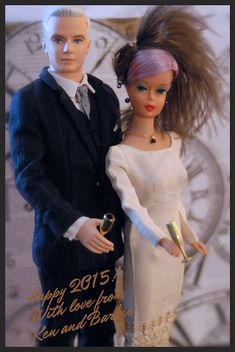 Happy New Year! From Ken and Barbie!