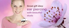 Ear piercing with Studex – a great gift idea