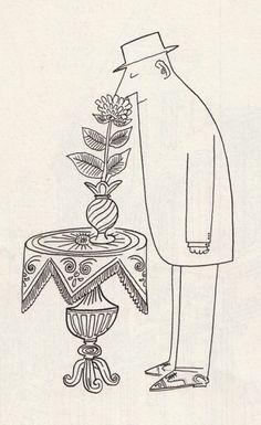 Saul Steinberg -genio, genio.