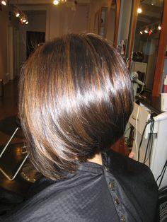 Hairchitects Salon - Campbell, CA, United States. A-line bob