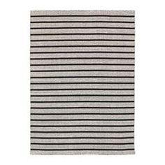 IKEA - RASKMÖLLE, Alfombra, Cada pieza es única, ya que ha sido tejida a mano por artesanos expertos que trabajan en centros organizados de la India con condiciones laborales adecuadas y salarios justos.Gracias a la superficie de lana resistente a la suciedad y el uso, esta alfombra es ideal para el salón o debajo de la mesa de comedor.Al tener una superficie lisa, resulta sencillo limpiarla con la aspiradora.Como tiene el mismo diseño por los dos lados, podrás darle la vuelta para que dure…
