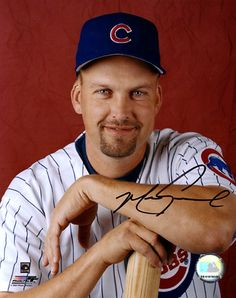 Mark Grace of the Chicago Cubs poses with a bat. Circa Photo Print x Cubs Players, Cubs Team, Baseball Players, Chicago Cubs Fans, Chicago Cubs Baseball, Mark Grace, Mlb Teams, Sports Teams, Go Cubs Go