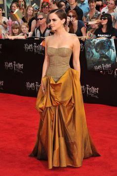Ready to feel old? Here's a compilation of every look Emma Watson wore on the Harry Potter red carpets!