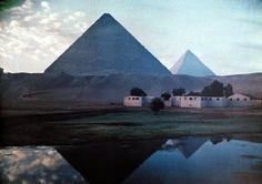 Autochromes taken by Gervais Courtellemont and W. Robert Moore for National Geographic.