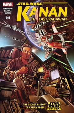 Kanan - The Last Padawan The Jedi Order is disbanded or dead! The Republic has fallen! Caleb Dume enters the dark times of the Galactic Empire! Star Wars Jedi, Star Wars Rpg, Star Wars Rebels, Star Trek, Marvel Comics, Star Wars Comics, Stephen Hawking, Comic Book Covers, Comic Books
