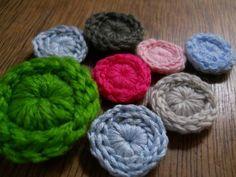 TIMELESS Crochet Button - tutorial