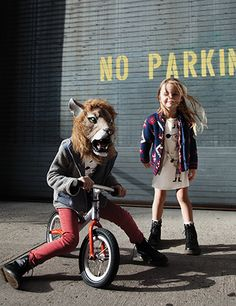 Fabulous @minirodini and #tootsamacginty from Babesta Beat fashion story! Photography by Stephanie McNiel/Styling by Lynn Levoy #kids #fashion #editorial #babesta www.babesta.com/beat