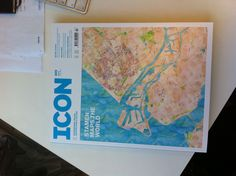 Stamen is on the cover of Icon Magazine!