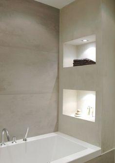 crea la tua vasca o il tuo piatto doccia con un pavimento in cemento LineaVERO: