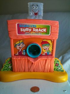 Lanard SNO Cone ICE Frosty Maker Icebusters Surf Shack Vintage 80s Food TOY | eBay