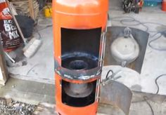 How to build a cheap waste oil stove/wood burner with clean burn