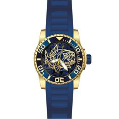 Invicta Mens Pro Diver Quartz Stainless Steel and Silicone Casual Watch ColorBlack Model 22129 * You can find out more details at the link of the image. Stylish Watches, Casual Watches, Invicta Pro Diver Chronograph, Mens Watches For Sale, Dove Men, Black And Navy, Black Gold, Navy Blue, Stainless Steel Watch