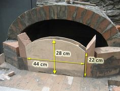 Clay Pizza Oven, Build A Pizza Oven, Bread Oven, Pizza Oven Outdoor, Outdoor Cooking, Wood Oven, Wood Fired Oven, Barbecue Four A Pizza, Build Outdoor Fireplace