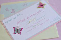 CAKE.   events + design: real parties: a garden of butterflies