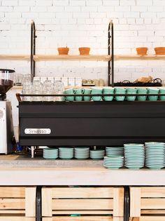 Barry Café // espresso setup
