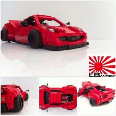 #Ferrari 458 de @LEGO_Group  #Imágenes