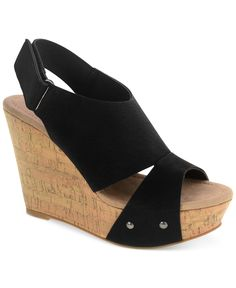 e83b4fa34043 CL by Laundry Camden Platform Wedge Sandals - Sandals - Shoes - Macy s  Camden