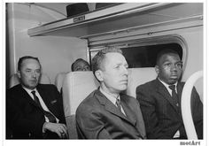 Freedom Riders were civil rights activists who rode interstate buses into the segregated southern United States in 1961 and following years to test the United States Supreme Court decisions Boynton v. Virginia (1960) and Irene Morgan v. Commonwealth of Virginia (1946). The first Freedom Ride left Washington, D.C., on May 4, 1961, and was scheduled to arrive in New Orleans on May 17.