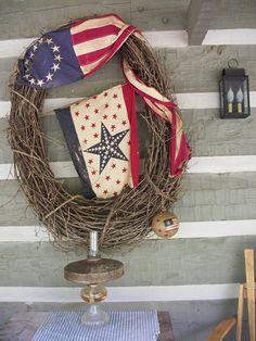 Americana Wreath.