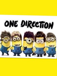 One Direction minions!!